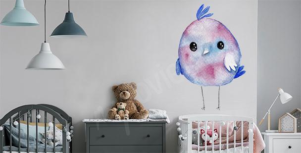 Sticker Vogel fürs Kinderzimmer