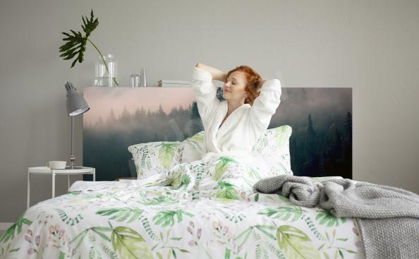 Sticker Wald am Morgen fürs Schlafzimmer