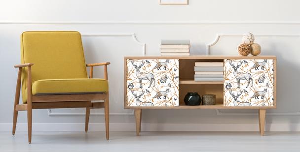 Sticker Waldbewohner