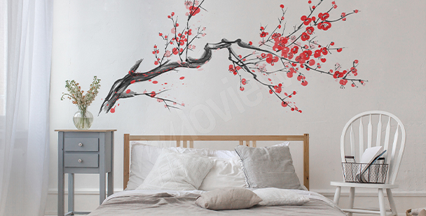 Sticker Frühlingsbaum