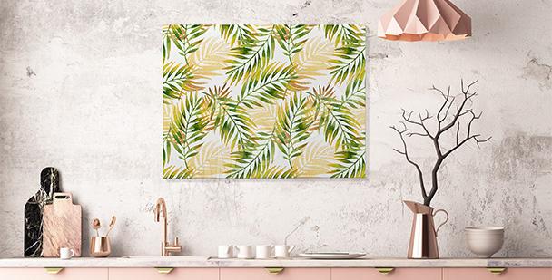 Tropisches Bild für die Küche