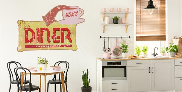 Typografischer Sticker: Liebe