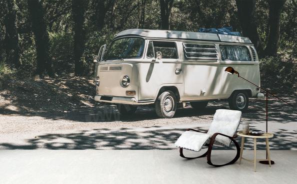 Vintage Auto Tapete