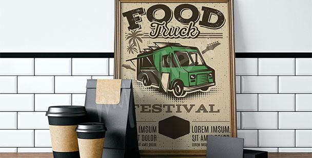 Vintage-Poster für die Küche