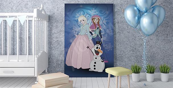 """Von """"Frozen"""" inspiriertes Poster"""