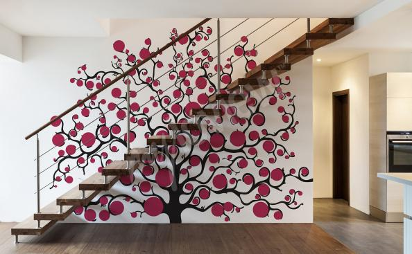 Wandsticker Baum für das Vorzimmer
