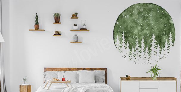 Wandsticker fürs Schlafzimmer