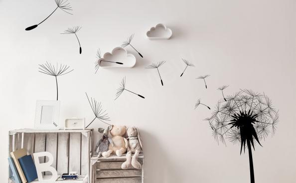 Wandsticker Pusteblume für Kinderzimmer