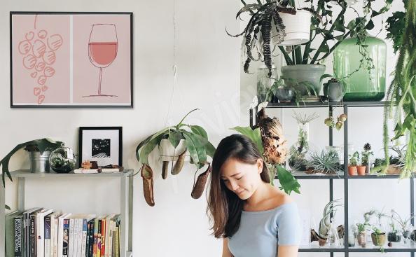 Weinposter fürs Esszimmer