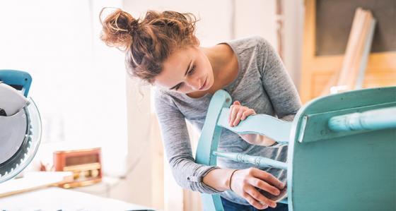 Wie kann man seine Freizeit nutzen? Eine kostengünstige Renovierung ohne das Haus zu verlassen ist eine großartige Option!