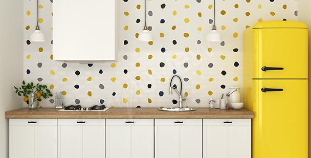 Zarte Fototapete für die Küche